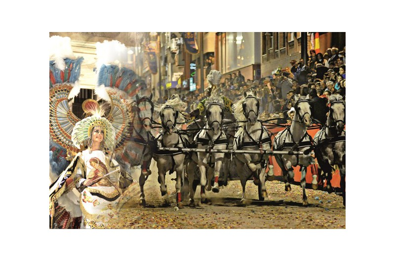 GUIDED TOUR TO EQUESTRIAN PARADES OF LORCA & GOLD EMBROIDERY