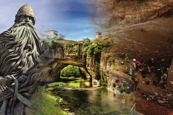GUIDED TOUR TO BONE & WATERFALLS: BURGOS, ATAPUERCA & VILLAGES
