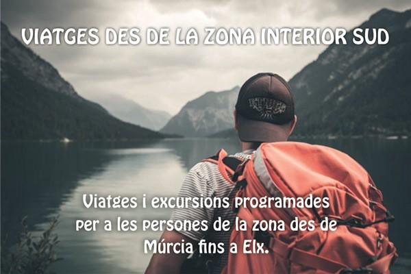 VIATGES DES DE LA ZONA INTERIOR SUD