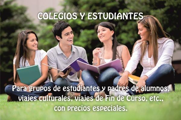 COLEGIOS Y ESTUDIANTES