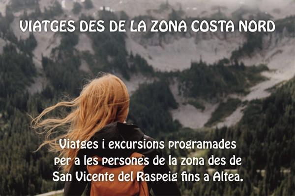 VIATGES DES DE LA ZONA COSTA NORD