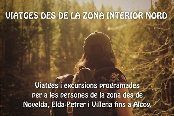 VIATGES DES DE LA ZONA INTERIOR NORD